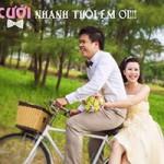 Bạn trẻ - Cuộc sống - Tình yêu hài hước của cặp đôi chế ảnh cưới