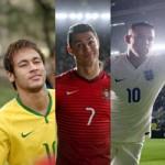 Bóng đá - Ronaldo, Neymar, Rooney…đọ tài nghệ chơi bóng