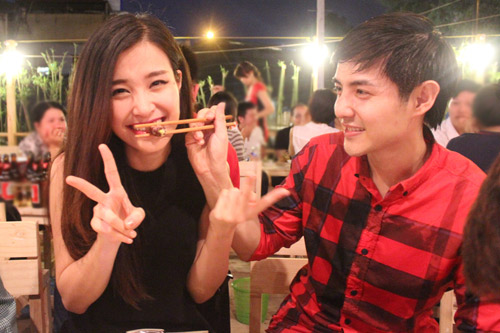 Đông Nhi hạnh phúc bên Ông Cao Thắng - 4