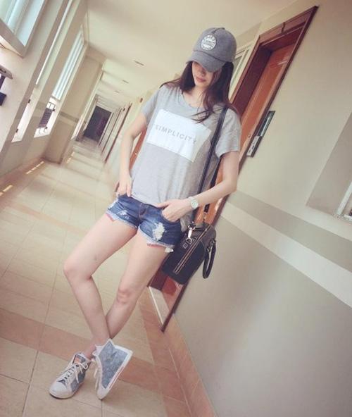 Học sao Việt cách mặc quần ngắn mát mẻ - 9