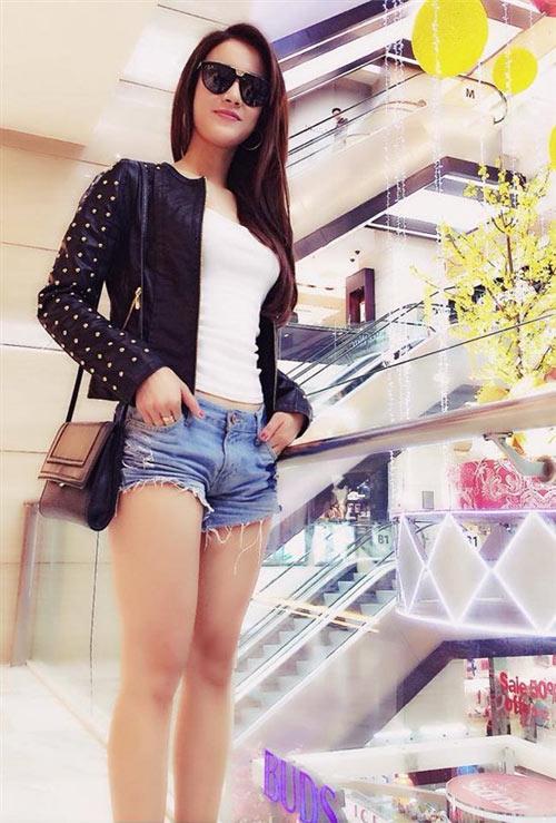 Học sao Việt cách mặc quần ngắn mát mẻ - 8