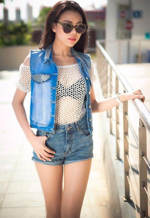 Học sao Việt cách mặc quần ngắn mát mẻ - 5