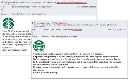 "Cẩn thận với virus ""Starbucks"" - 1"