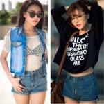 Thời trang - Học sao Việt cách mặc quần ngắn mát mẻ