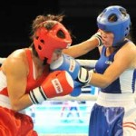 """Thể thao - Tuyển thủ Boxing nữ VN """"đè bẹp"""" đối thủ"""