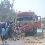 Tin tức trong ngày - Xe tải đối đầu xe ben, tài xế tử nạn