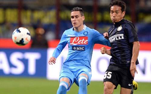 Inter -  Napoli: Lệch thước ngắm - 1