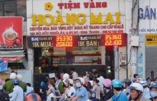 Vụ khám tiệm vàng tại Bình Thạnh: Trả lại 559 lượng vàng - 1