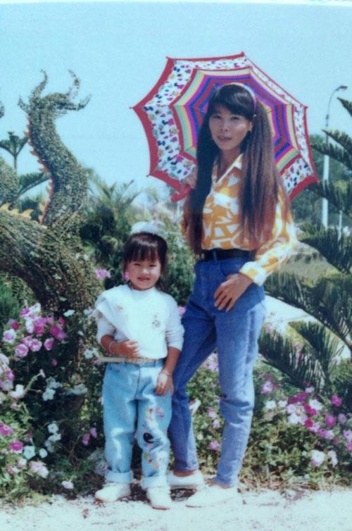 Ảnh thơ ấu dễ thương của sao Việt - 1