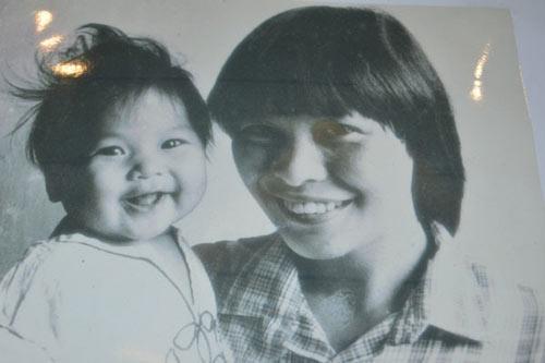 Ảnh thơ ấu dễ thương của sao Việt - 7
