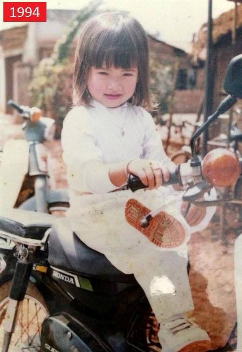 Ảnh thơ ấu dễ thương của sao Việt - 2