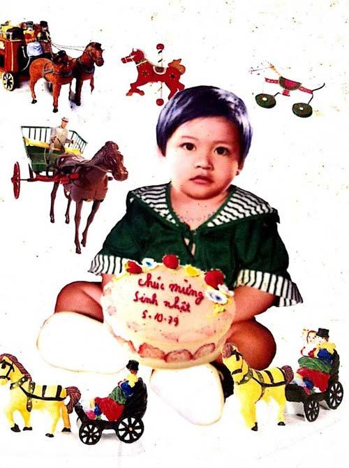 Ảnh thơ ấu dễ thương của sao Việt - 9