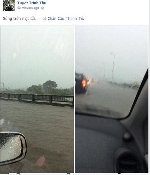Ảnh Hà Nội ngập lụt tràn lên cả mạng xã hội - 3
