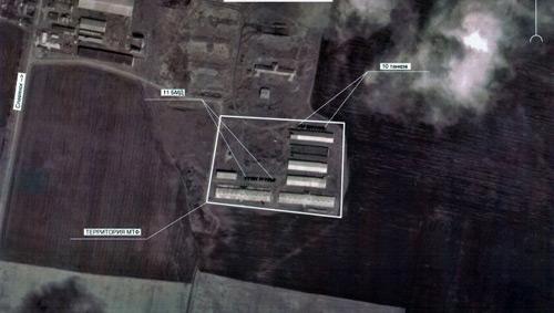 """Ảnh vệ tinh cáo buộc Ukraine tập trung quân """"sát nách"""" Nga - 1"""