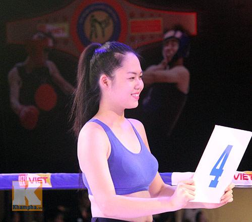 Dàn hotgirl làm nóng võ đài giải võ Việt - 5