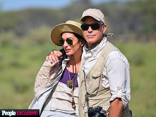 Tài tử George Clooney đã đính hôn - 1