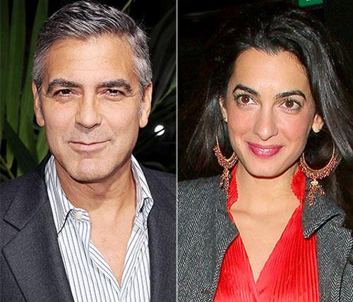 Tài tử George Clooney đã đính hôn - 2