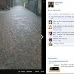 Tin tức trong ngày - Ảnh Hà Nội ngập lụt tràn lên cả mạng xã hội
