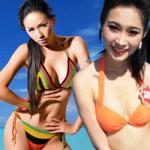 Thời trang - Nàng hậu Việt đọ sức nóng cùng áo tắm 2 mảnh