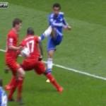 Bóng đá - Video: Chelsea bị từ chối quả penalty
