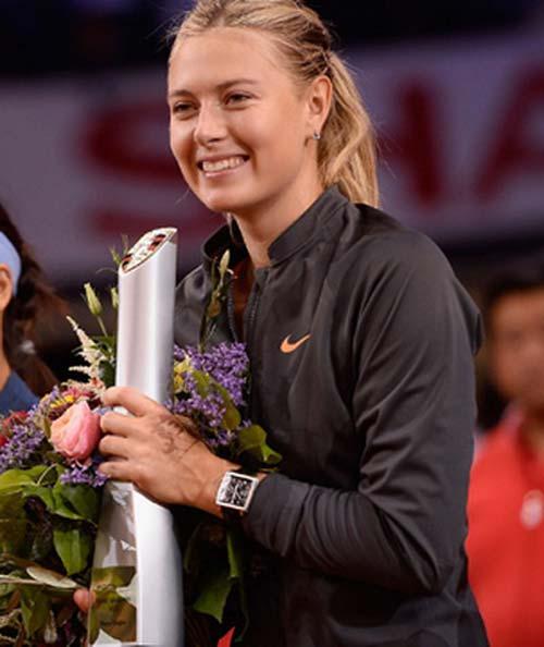 Sharapova lần thứ ba đăng quang ở Stuttgart - 4