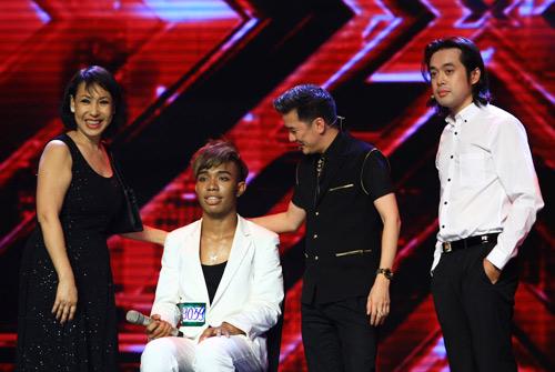 Giám khảo X-Factor phấn khích với thí sinh lai Việt - 3