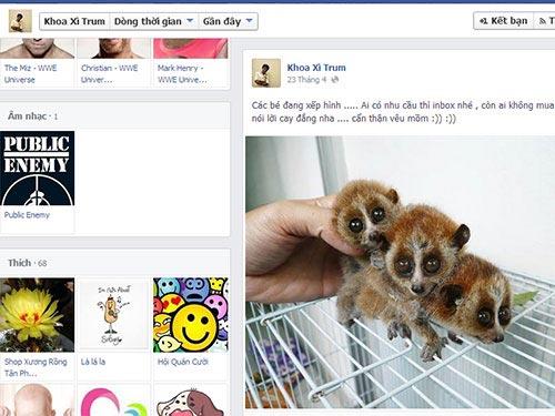 Mạo danh vườn quốc gia rao bán thú quý trên Facebook - 1