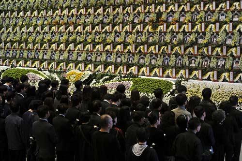 """Dân HQ hủy """"tuần lễ vàng"""" vì thảm kịch phà Sewol - 2"""