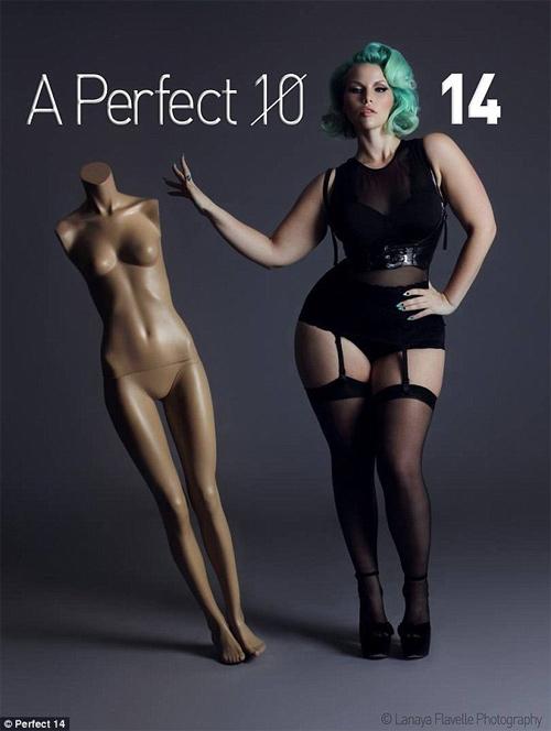 Nỗi thống khổ của người mẫu béo lên màn ảnh - 2
