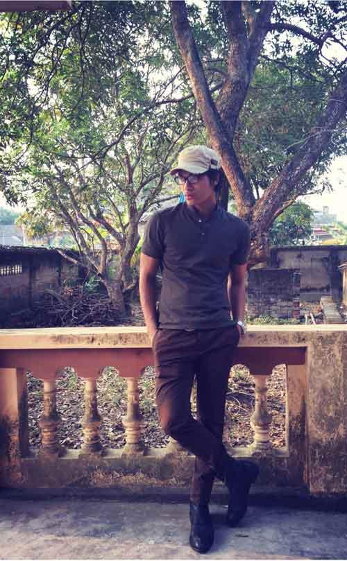 Vũ Tuấn Việt bảnh bao với quần kaki 500 ngàn - 4