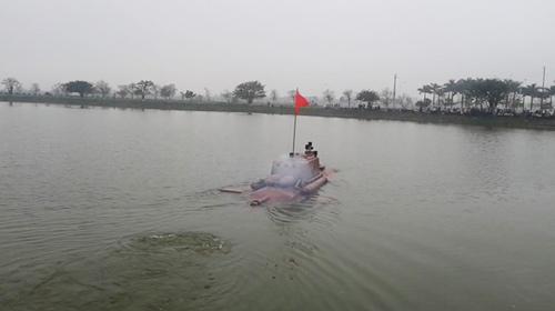 Tàu ngầm tự chế không được cấp phép thử ngoài biển - 1