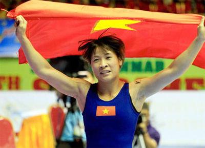 Đô vật số 1 Việt Nam lần đầu giành HCB châu Á - 1