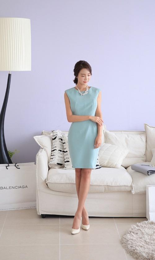 Khéo chọn váy cho nàng công sở giản dị - 5
