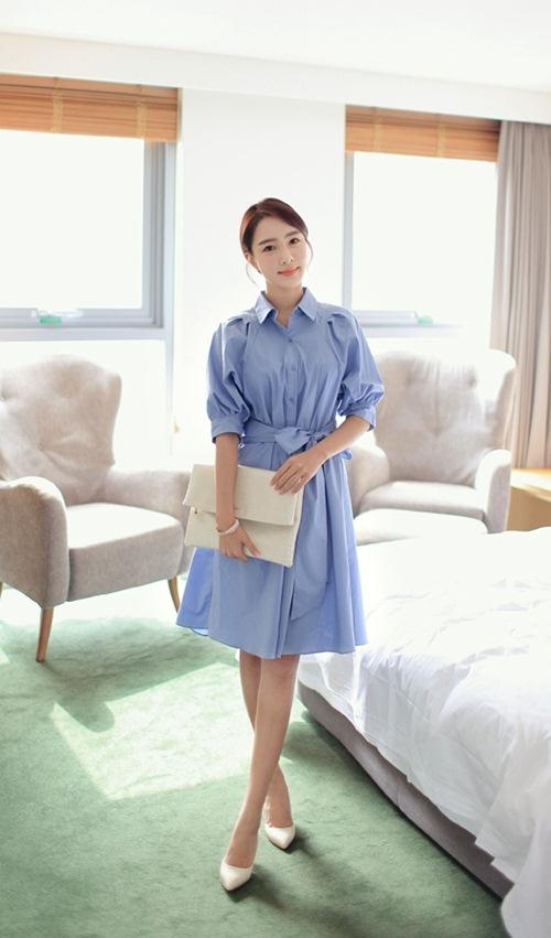 Khéo chọn váy cho nàng công sở giản dị - 7