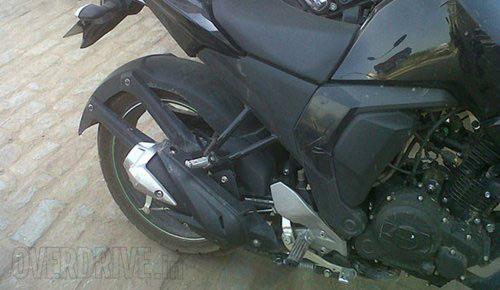 Xe côn tay Yamaha FZ 2014 lộ ảnh - 2