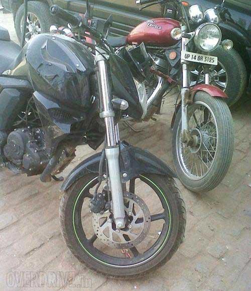 Xe côn tay Yamaha FZ 2014 lộ ảnh - 5