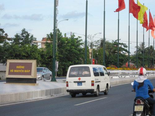 TP Vũng Tàu công bố đường mang tên Võ Nguyên Giáp - 1