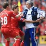 Bóng đá - Mourinho tranh bóng, ăn mừng chọc tức Liverpool