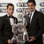 Bóng đá - Suarez - Hazard xuất sắc nhất Premier League