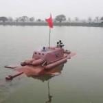 Tàu ngầm tự chế không được cấp phép thử ngoài biển