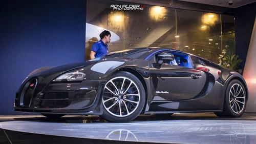 Bugatti Veyron Super Sport đầu tiên đến Hồng Kông - 1