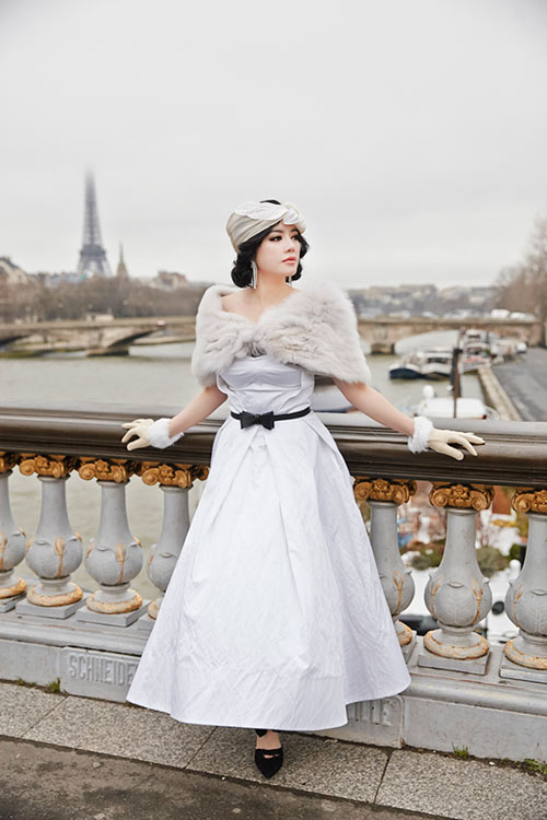 Lý Nhã Kỳ hóa nàng công chúa lạc lối trên đất Pháp - 3