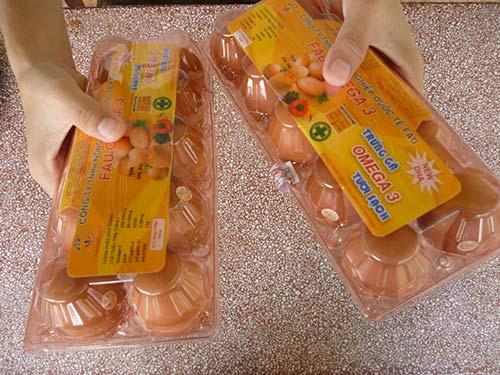 Đủ loại trứng gà omega 3 - 1