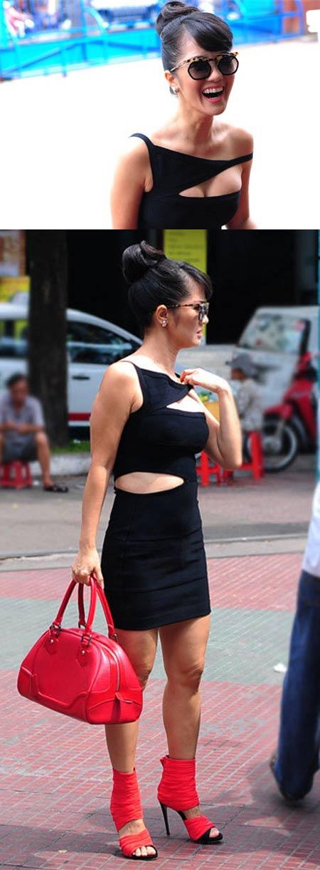 Gu ăn mặc gây tranh cãi của diva Hồng Nhung - 13