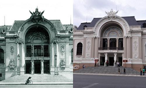 Chùm ảnh: Sự khác biệt giữa Sài Gòn xưa và nay - 1