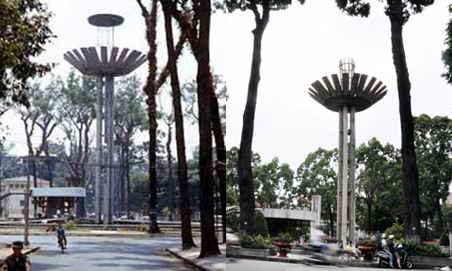 Chùm ảnh: Sự khác biệt giữa Sài Gòn xưa và nay - 7