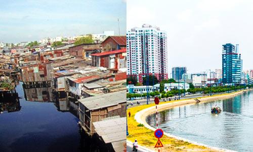 Chùm ảnh: Sự khác biệt giữa Sài Gòn xưa và nay - 8