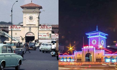 Chùm ảnh: Sự khác biệt giữa Sài Gòn xưa và nay - 9