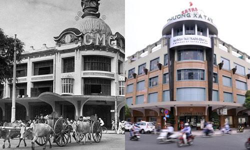 Chùm ảnh: Sự khác biệt giữa Sài Gòn xưa và nay - 5