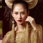 Thời trang - Áo dài Việt sơn son thiếp vàng  lộng lẫy